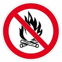 interdit au feu